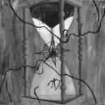 Ernesto Benítez Divided Sky Cielo dividido Philosophy and Art Contemporary: To Tear the Veil of Arcane, Analogical Thought (Clay, Fire, Ashes Coal artwork). Filosofía y Arte Contemporáneo: Rasgar el Velo de Arcano y Pensamiento Analógico (arcilla, mística de Fuego, Cenizas y Carbón dibujo papel) Ritualidad Kōan Arte