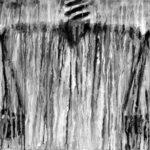 Ernesto Benítez Birth of Man Nacimiento del Hombre Philosophy and Art Contemporary: To Tear the Veil of Arcane, Analogical Thought (Clay, Fire, Ashes Coal artwork). Filosofía y Arte Contemporáneo: Rasgar el Velo de Arcano y Pensamiento Analógico (arcilla, mística de Fuego, Cenizas y Carbón dibujo papel) Ritualidad Kōan Arte