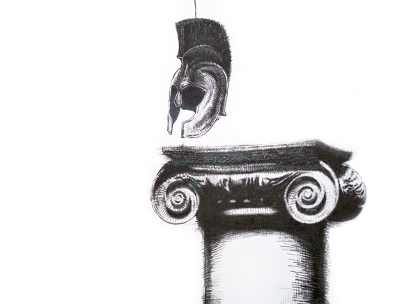 Contemporary Art and Anthropology: Probability Resource V Sophisms Culture (Logical Fallacy) Conté-Pencil Drawing (Cognitive Biases Fallacy). Arte Contemporáneo y Antropología: Arte Cubano (Falacias y Auto-engaño). Recurso de Probabilidad V, Dibujo sobre papel