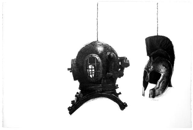 Drawing conte pencil Contemporary Art of Simulation: Alienation Fallacies, Transmutation Metamorphosis Philanthropy I. Filantropía I, Arte de la simulación (Mascaradas del Poder para Preservar el Statu Quo). Ni Altruismo, ni Solidaridad; Imagen de Marca y Caridad 2.0. Dibujo (Tinta y Lápiz Conté sobre Papel) Artes Visuales (Arte Contemporáneo Cubano)