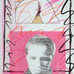 Paper Mixed Media Deliriums VI, Erotic Art & Sexuality: Retrograde-Homophobic Society Visual Contemporary Art. Técnica Mixta Delirios VI, Arte erótico y sexualidad: Sociedad Homofóbica Retrógrada, Artes Visuales, Arte Contemporáneo Drawing