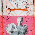 Paper Mixed Media Deliriums VIII, Erotic Art & Sexuality: Retrograde-Homophobic Society Visual Contemporary Art. Técnica Mixta Delirios VIII, Arte erótico y sexualidad: Sociedad Homofóbica Retrógrada, Artes Visuales, Arte Contemporáneo Drawing