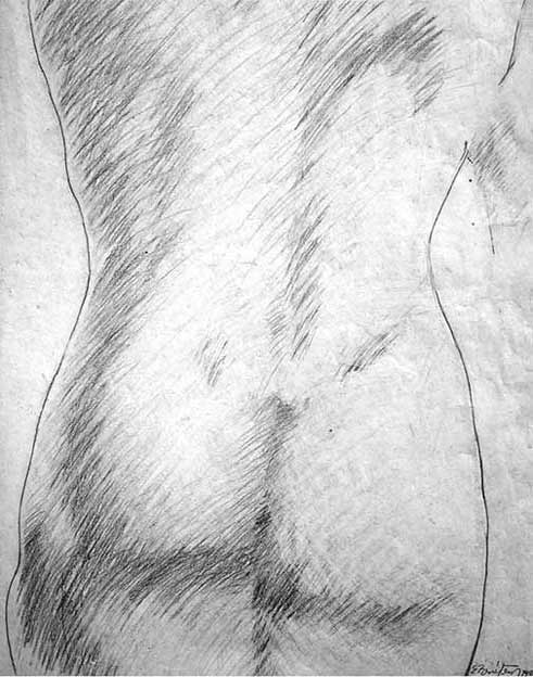 Drawing Nude II, The Human Body, Study of the Natural. San Alejandro Academy of Fine Arts. Contemporary Art Visual Arts Cuban Artist. Desnudo II The Artistic Nude Drawing Pencil on Paper, Havana (Studies in Fine Arts) El Desnudo Artístico, Dibujo Lápiz sobre Papel Academia de Bellas Artes San Alejandro Academy (Habana)
