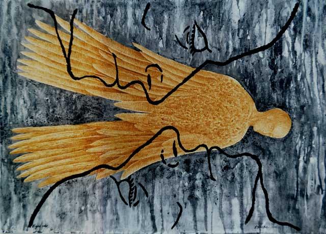 The Great Flight: Contemporary Art, Hermetic Philosophy and Alchemy Fire Ashes, Coal (Contemporary Art and Philosophy) Discurso del Yo: El gran Vuelo, Multivalencia Simbólica, Trascendencia, Analogía Mística y Alquimia. Arte Contemporáneo y Filosofía Hermética (Dibujos con fuego y cenizas). Artes Visuales Cuba (Arte Cubano Contemporáneo)