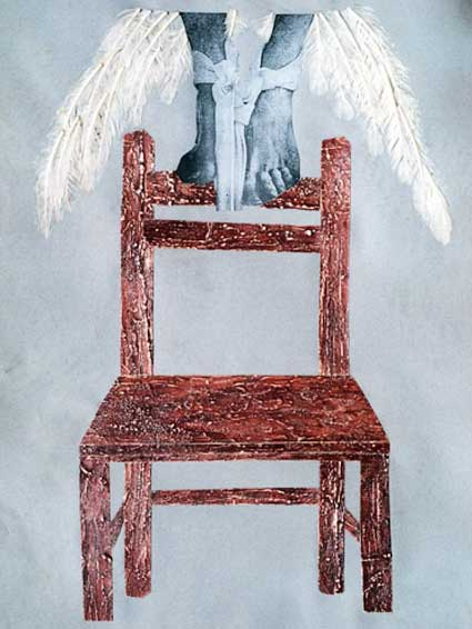 Arte Contemporáneo Cubano Llegar al final. Syndrome of The Suspicion Exhibition (Collage Art) Neo-Medieval Relativism & Skepticism La sospecha impresa. Síndrome de la Sospecha. El sentido cartesiano y la Conciencia del Sentido