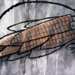 Hermetic Philosophy and Alchemy, Contemporary Art and Philosophy (The Great Flight) Ashes, Coal, Fire Alchemy (Arte Cubano) Arte Contemporáneo y Filosofía -Técnica mixta, cenizas, arcilla y acrílico sobre pape. El gran Vuelo: Relicario