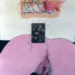 Paper Mixed Media Deliriums I, Erotic Art & Sexuality: Retrograde-Homophobic Society Visual Contemporary Art. Técnica Mixta Delirios I, Arte erótico y sexualidad: Sociedad Homofóbica Retrógrada, Artes Visuales, Arte Contemporáneo Drawing