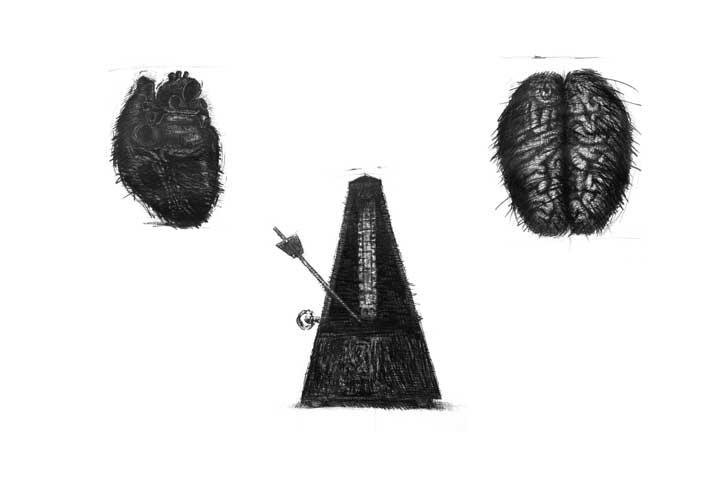 Ink-Pencil Drawing) Visual Arts, All Names of God II: Deus Otiosus. The Death of God in Contemporary Art Todos los nombres de Dios II: Escisión, Amputación del sujeto contemporáneo (Dibujos sobre Papel). Arte Contemporáneo Cubano