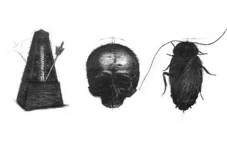 Ink-Pencil Drawing) Visual Arts, All Names of God I: Deus Otiosus. The Death of God in Contemporary Art Todos los nombres de Dios I: Escisión, Amputación del sujeto contemporáneo (Dibujos sobre Papel). Arte Contemporáneo Cubano