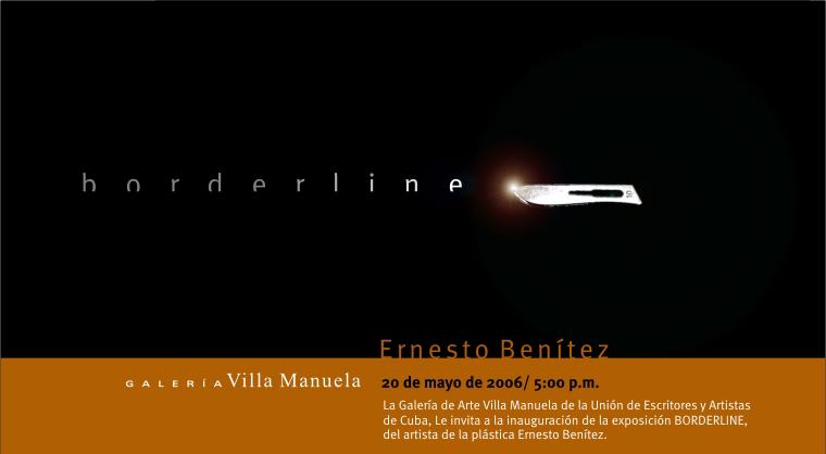Borderline Exposición Arte Cubano UNEAC Galería Villa Manuela