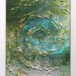 Ernesto Benítez Arte cubano: Pintura (Tabula Rasa-I) Sal, Azufre Mercurio sobre lienzo