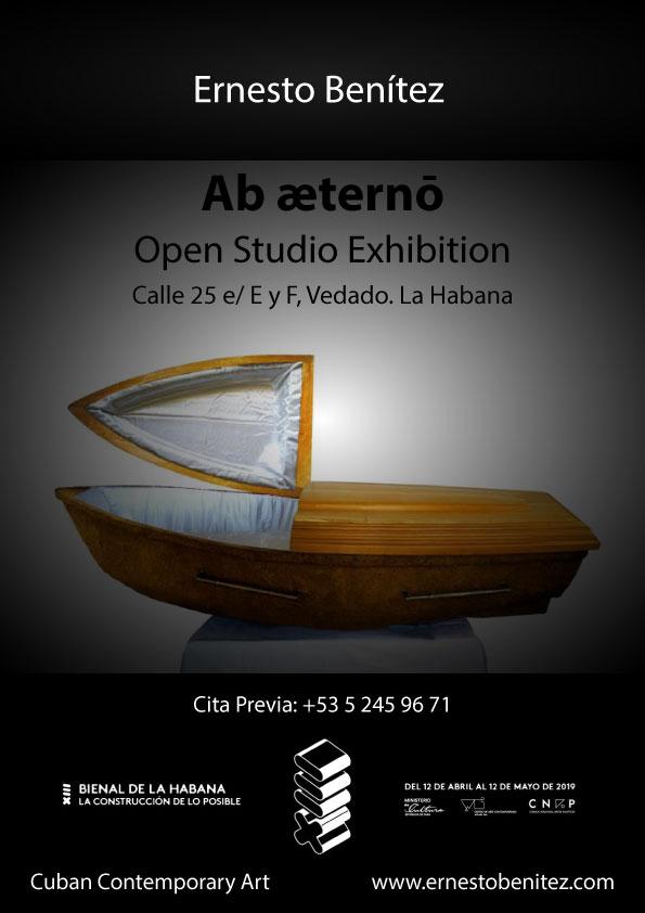 Exposición XII Bienal de La Habana Ernesto Benítez Ab æterno