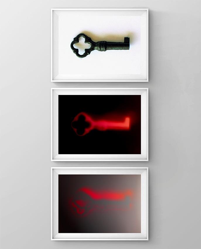 Sacrificium (Oblatio) Apheresis-I Autotransfusion Cabinet (C-Print-Hannemule), Blood-letting Phlebotomy Ritual de Sangría-Flebotomía, visual contemporary art. Aféresis-I, Gabinete de Autotransfusión Fotografía Digital Photography artes visuales arte contemporáneo
