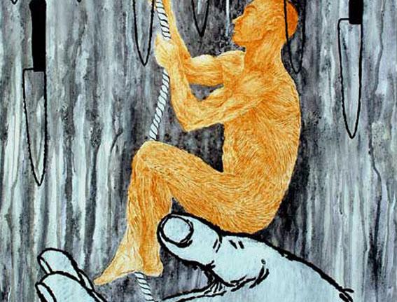 Ascensión, Multivalencia Simbólica, Trascendencia, Analogía Mística, Antropología y Alquimia. Arte Contemporáneo y Filosofía Hermética (Dibujos con fuego y cenizas). Artes Visuales Cuba (Arte Cubano Contemporáneo) COVER