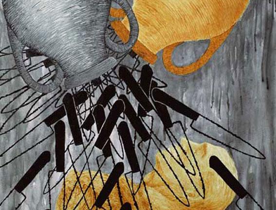 Bautismo de Día, Multivalencia Simbólica, Trascendencia, Analogía Mística, Antropología y Alquimia. Arte Contemporáneo y Filosofía Hermética (Dibujos con fuego y cenizas). Artes Visuales Cuba (Arte Cubano Contemporáneo) COVER