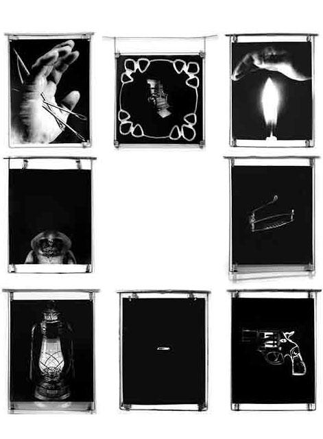 Ernesto Benítez Mantra del Fetiche Cultural Ejercicio Diagnóstico (Sala de diagnostico) New Media Fotografía Arte Digital Cubana, artes visuales, arte contemporáneo nuevos medios, Diagnostic Exercise, Critical Thinking. Cultural Fetish digital art ohotography installation