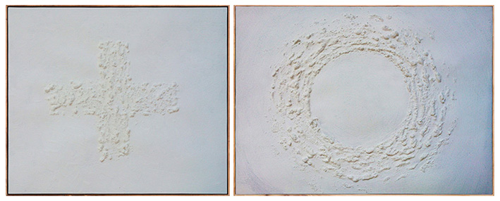 Prótesis, Corregir la Mirada I y II Entre el vacío y la nada (Espíritu de Sal) Arte Contemporáneo Correcting the Gaze: Prosthesis, Salt spirit (between the