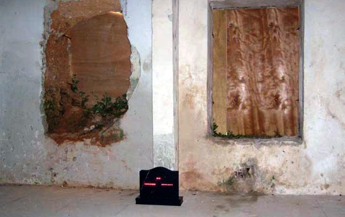 Ernesto Benitez, SaMsara (Digital Art Installation Site Specific) Instalación Arte Digital Espacio Específico